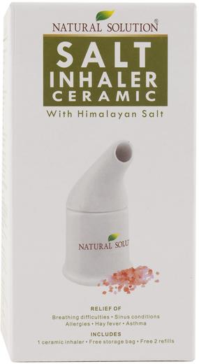 Salt Inhaler Ceramic with Himalayan Salt plus Refills , 1 Unit