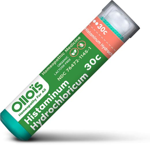 Histaminum Hydrochloricum 30 c, homöopathisch, bei Allergien 80 Pellets