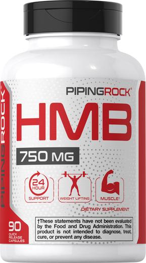 HMB 750 mg, 90 Capsules