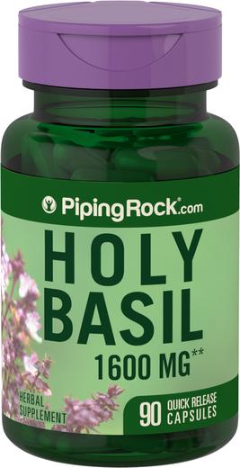 Holy Basil 400mg Tulsi 90 Capsules