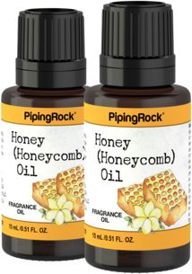 Honey (Honeycomb) Fragrance Oil 2 oz (59 ml) Dropper Bottle