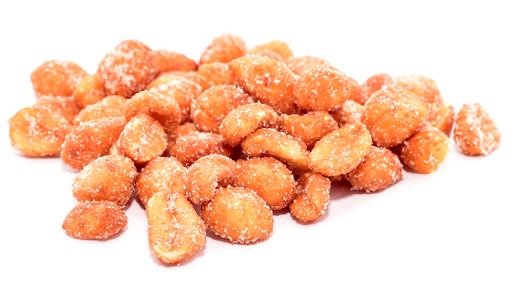 Met honing geroosterde pinda's 1 lb (454 g) Zak