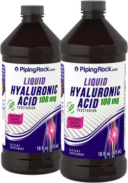 Hyaluronic Acid Liquid 100mg 2 Bottles x 16 fl oz