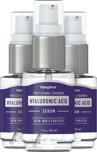 Soro de ácido hialurónico, 1 fl oz (30 mL) Frasco doseador, 3  Frasco pump
