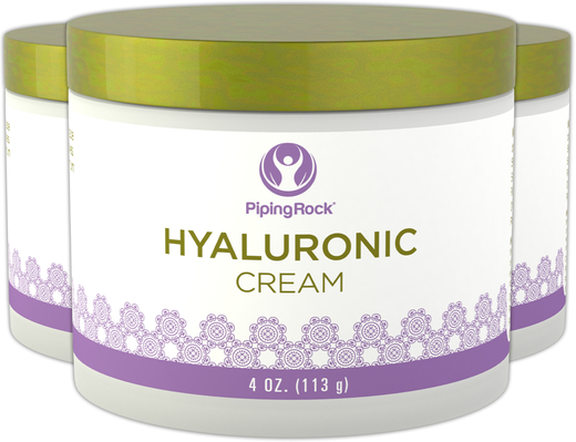 "Hyaluronic Acid Cream 3 Jars x 4 oz (113 g) "" title=""Hyaluronic Cream 3 Jars x 4 oz (113 g)"
