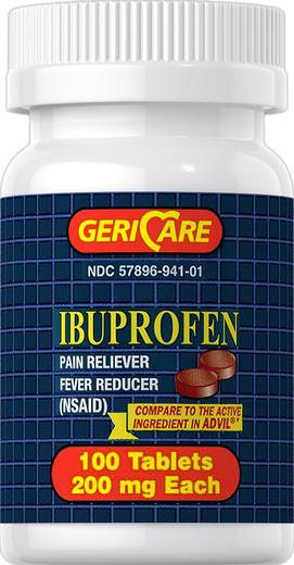 Ibuprofen 200 mg 100 Tabletki