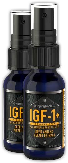 Spray z rogów jelenia IGF, super silny 1 fl oz (30 mL) Butelka do spryskiwania
