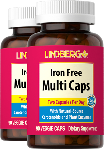 Multi Caps bez żelaza 90 Kapsułki wegetariańskie