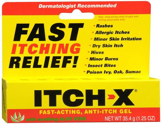 Żel przeciw swędzeniu Itch-x 1.25 oz (35 g) Tubka