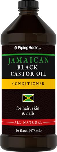 Jamajski czarny olejek rycynowy 16 fl oz (473 mL) Butelka