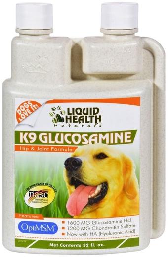 K9 กลูโคซามีน 32 fl oz (946 mL) ขวด