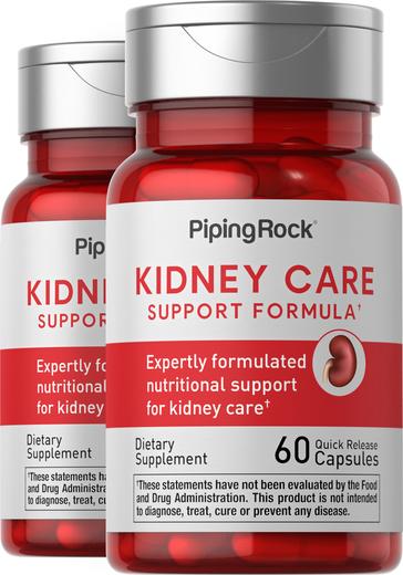 Kidney Care 2 Bottles x 60 Capsules