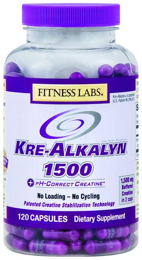 Kreatyna alkaliczna  120 Kapsułki