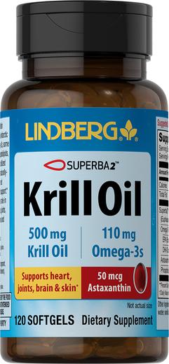 Krill Oil, 500 mg, 120 Softgels