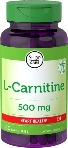 L-Carnitine 500 mg 60 Capsules