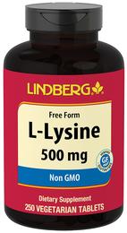 L-Lysine 500 mg, 250 Tabs