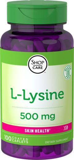 L-lisina (forma libera) 100 Pastiglie rivestite