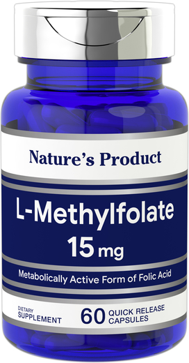 L-Methylfolate 15 mg, 60 Caps