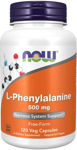 L-Phenylalanine 500 mg, 60 Capsules