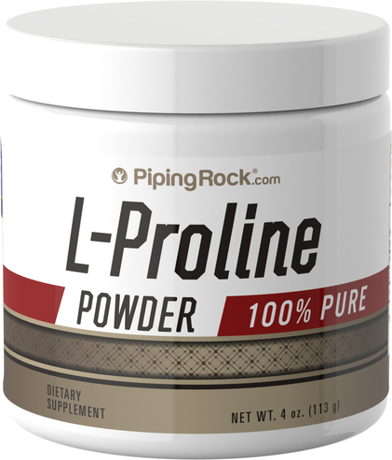 L- Proline Powder 4 oz (113 g) 100% Pure