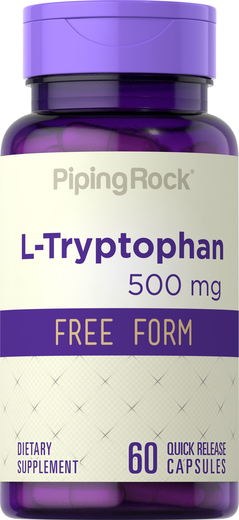 L-Tryptophan 500 mg Supplement 60 Capsules