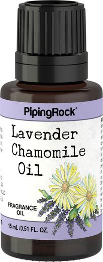 Olejek aromatyczny z lawendy i rumianku 1/2 fl oz (15 mL) Butelka z zakraplaczem