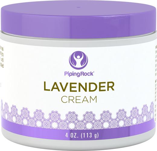 Lavendelcreme 4 oz (113 g) Glas