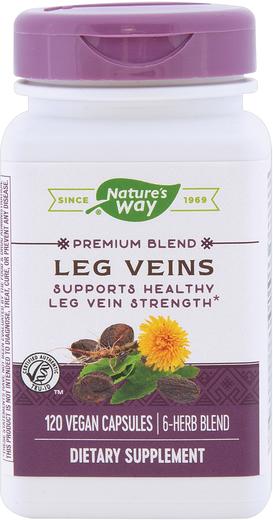 Żyły nóg 120 Kapsułki wegetariańskie