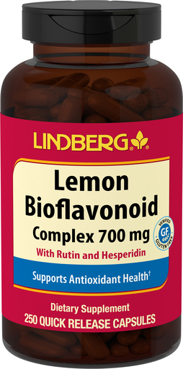 Bioflawonoidy z cytryny 250 Kapsułki o szybkim uwalnianiu