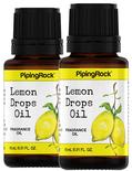 Lemon Drops Fragrance Oil 2 Dropper Bottles x 1/2 oz (15 ml)