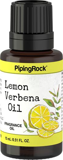 檸檬馬鞭草(藥劑)芳香油   1/2 fl oz (15 mL) 滴管瓶