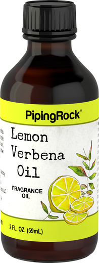 檸檬馬鞭草(藥劑)芳香油 2 fl oz (59 mL) 滴管瓶