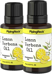 Lemon Verbena (Apothecary) Fragrance Oil 2 Dropper Bottles x 1/2 oz (15 ml)