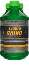 Liquid Aminos (16 Grams Per Serving) 3 Bottles x 16 fl oz (473 mL)