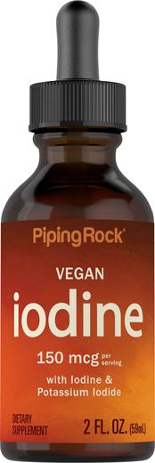 Jodyna w płynie 2 fl oz (59 mL) Butelka z zakraplaczem
