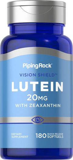 Lutein 20 mg with Zeaxanthin 180 Softgels