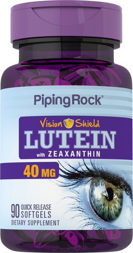 Lutein 40 mg with Zeaxanthin 90 Softgels