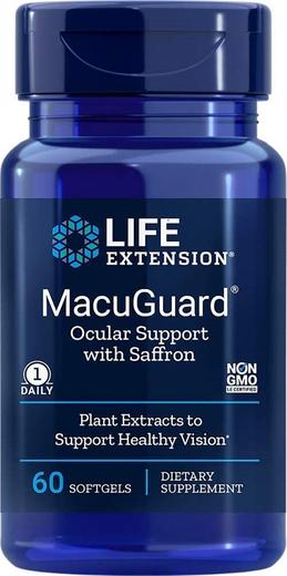 MacuGuard dla oczu 60 Tabletki żelowe