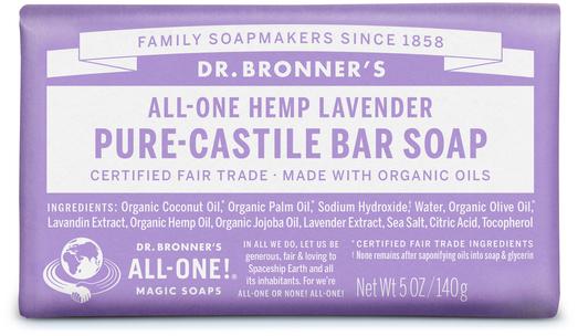 Dr Bronner's Magic Lavender Soap 5 oz (142 g) Bar(s)