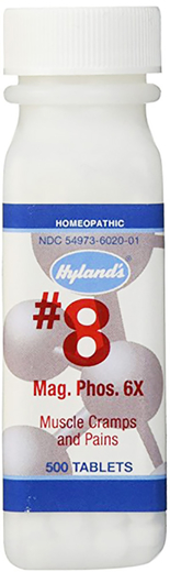 Magnesia Phosphorica 6XHomeo Muscle Cramps and Pains, 500 Tablets
