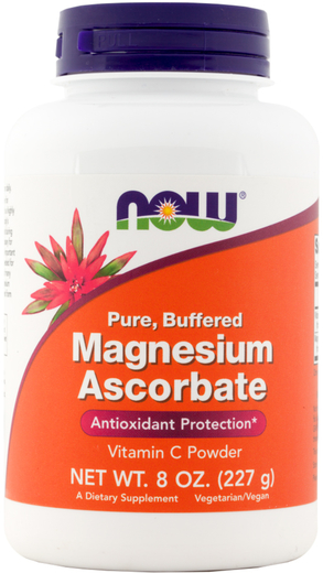 Magnesium Ascorbate Buffered Vitamin C Powder 8 oz. (227 g) Bottle