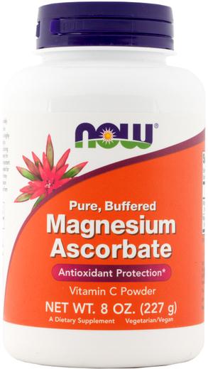 Askorbinian magnezu w proszku 8 oz (227 g) Butelka