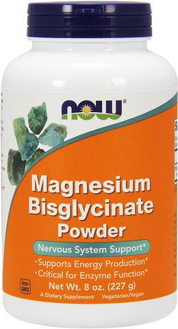 Magnesium-bisglynaat-poeder 8 oz Fles