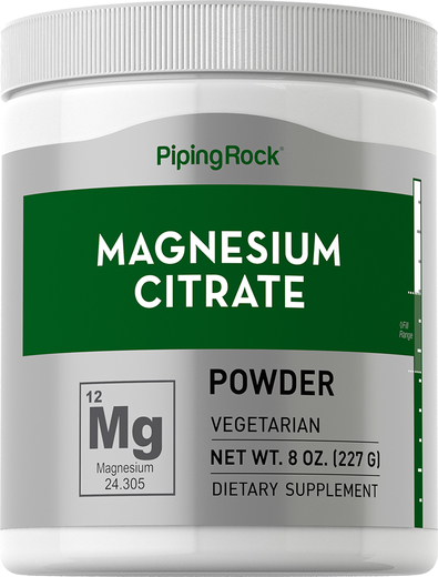 Magnesium Citrate Powder, 8 oz (227 g)