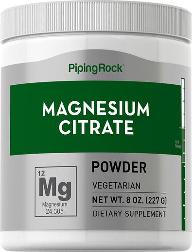 Cytrat magnezu w proszku 8 oz (227 g) Butelka