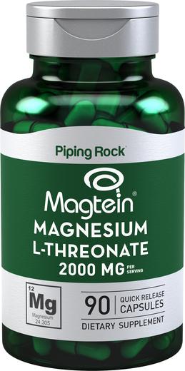 Magnesium L-Threonate Magtein 90 Capsules for Seniors