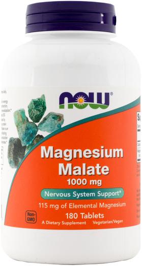 蘋果酸鎂片  1000 mg 180 錠劑