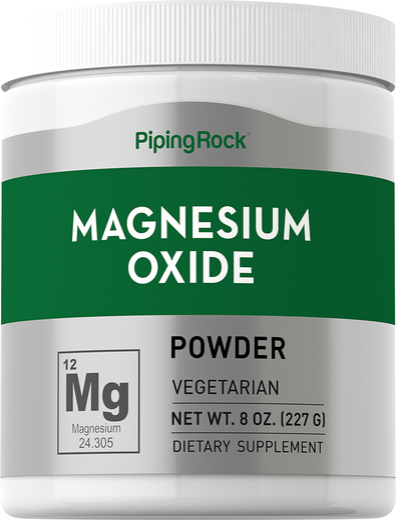 Bubuk Magnesium Oksida 8 oz (227 g) Botol