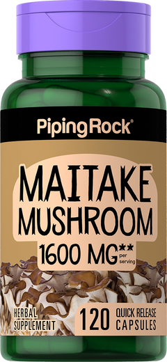 Maitake Mushroom 500mg 120 Capsules