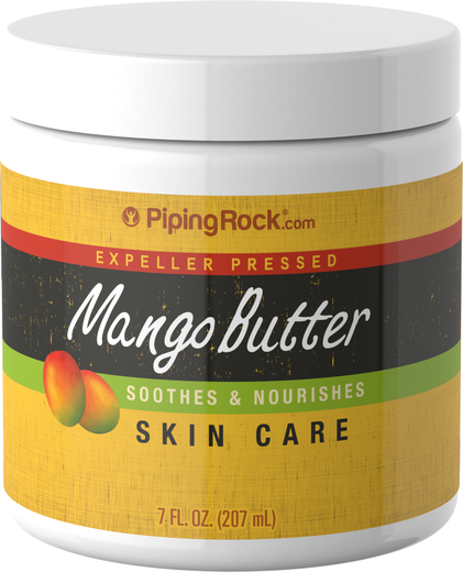 Buy Mango Butter for Skin, lip balm 7 fl oz (207 mL) Jar